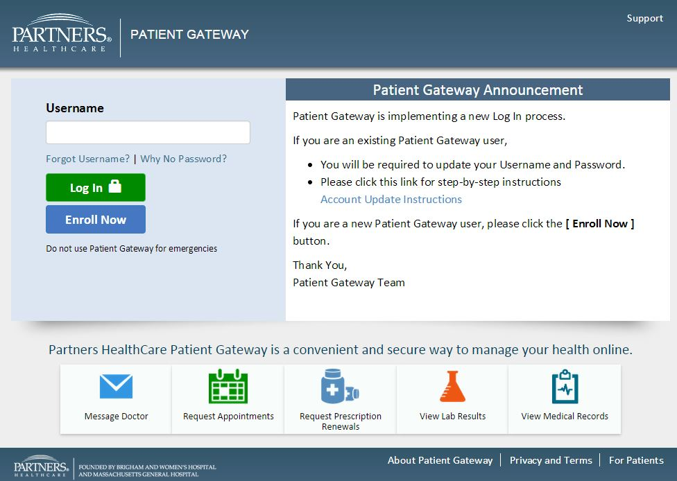 What is the purpose of a Patient Gateway?