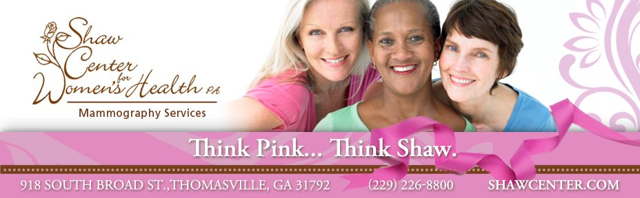 Think Pink... Think Shaw.
