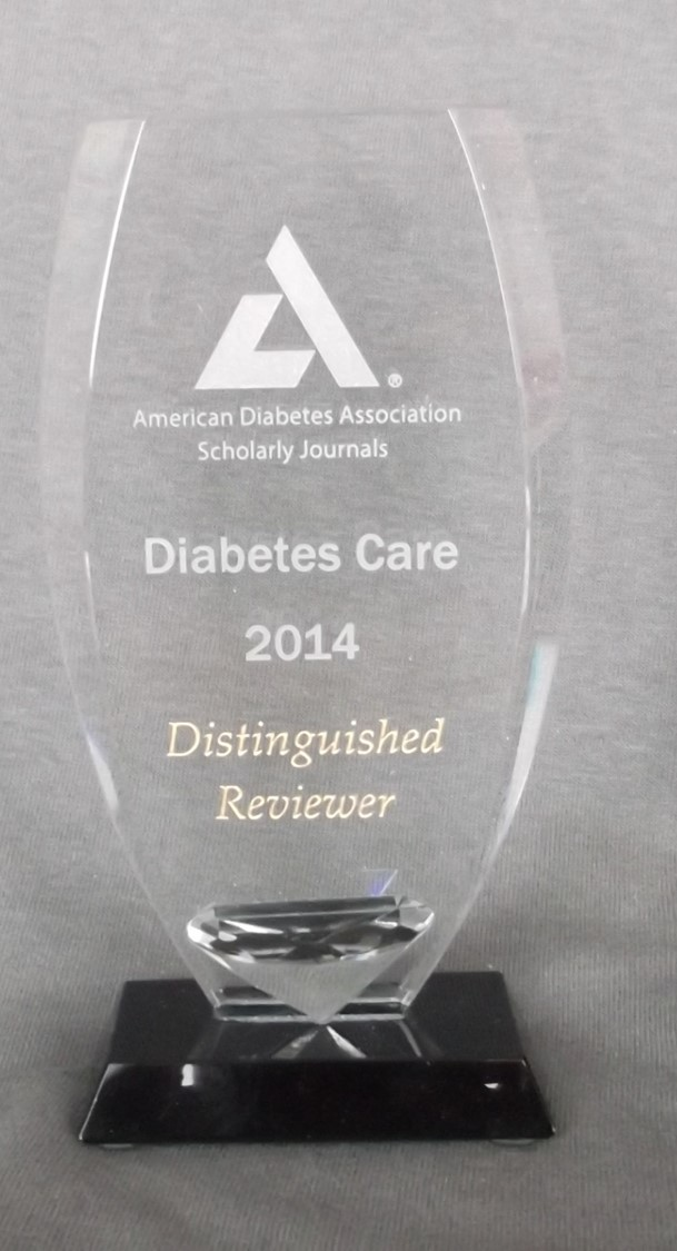 ADA Distinguished Reviewer!
